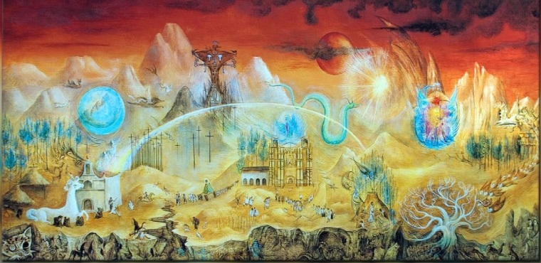 Leonora-Carrinton-el-mundo-magico-de-los-mayas