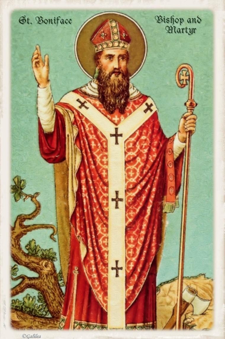 San Bonifacio, Obispo y Mártir, 5 Junio